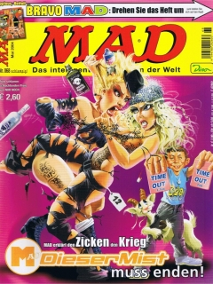 Go to MAD Magazine #68 • Germany • 2nd Edition - Dino/Panini