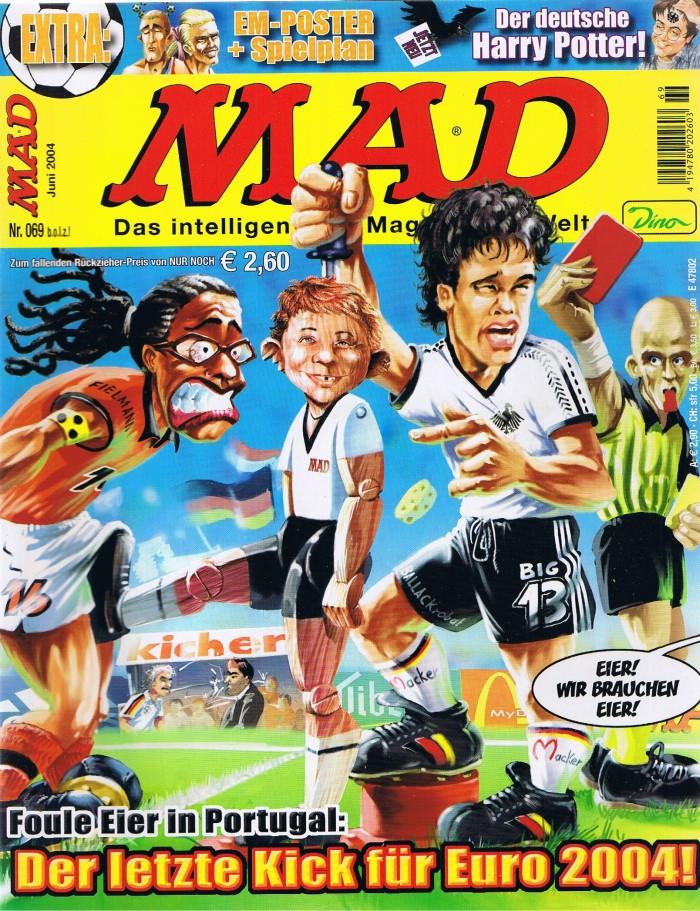 MAD Magazine #69 • Germany • 2nd Edition - Dino/Panini