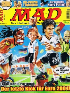 Go to MAD Magazine #69 • Germany • 2nd Edition - Dino/Panini
