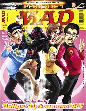 MAD Magazine #71 • Germany • 2nd Edition - Dino/Panini