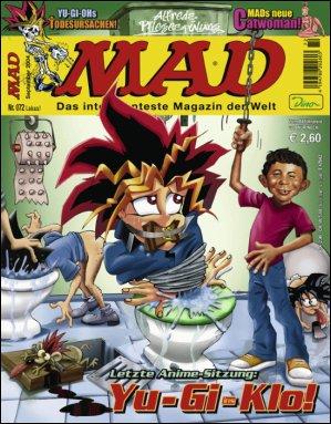 MAD Magazine #72 • Germany • 2nd Edition - Dino/Panini
