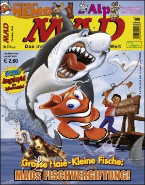 MAD Magazine #73 • Germany • 2nd Edition - Dino/Panini