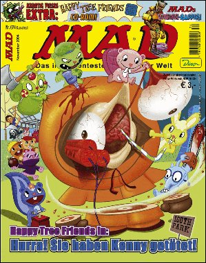 MAD Magazine #74 • Germany • 2nd Edition - Dino/Panini