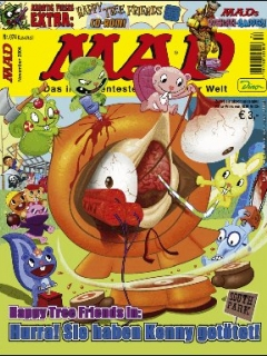Go to MAD Magazine #74 • Germany • 2nd Edition - Dino/Panini