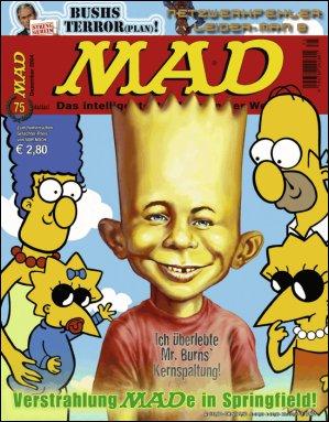 MAD Magazine #75 • Germany • 2nd Edition - Dino/Panini