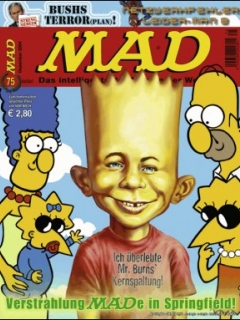 Go to MAD Magazine #75 • Germany • 2nd Edition - Dino/Panini