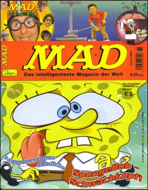 MAD Magazine #76 • Germany • 2nd Edition - Dino/Panini