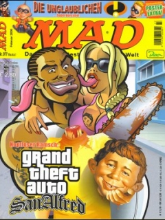 Go to MAD Magazine #77 • Germany • 2nd Edition - Dino/Panini