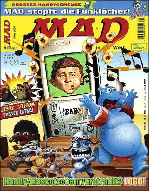 MAD Magazine #78 • Germany • 2nd Edition - Dino/Panini
