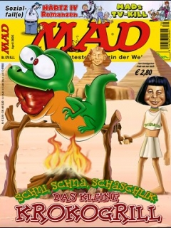 Go to MAD Magazine #79 • Germany • 2nd Edition - Dino/Panini
