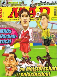 Go to MAD Magazine #80 • Germany • 2nd Edition - Dino/Panini