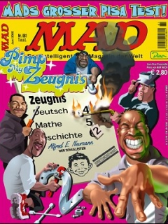 Go to MAD Magazine #81 • Germany • 2nd Edition - Dino/Panini