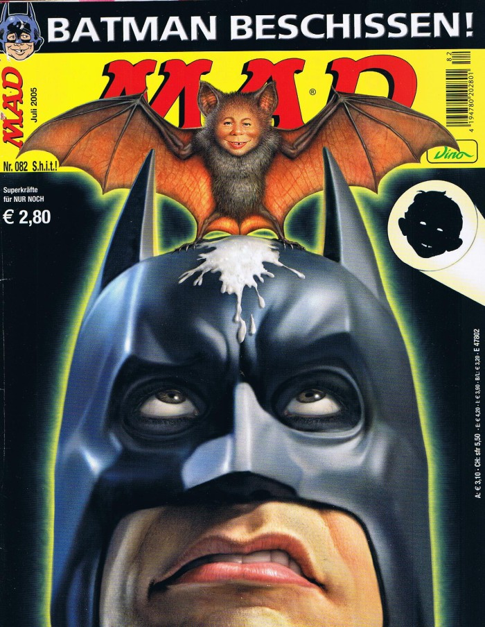 MAD Magazine #82 • Germany • 2nd Edition - Dino/Panini