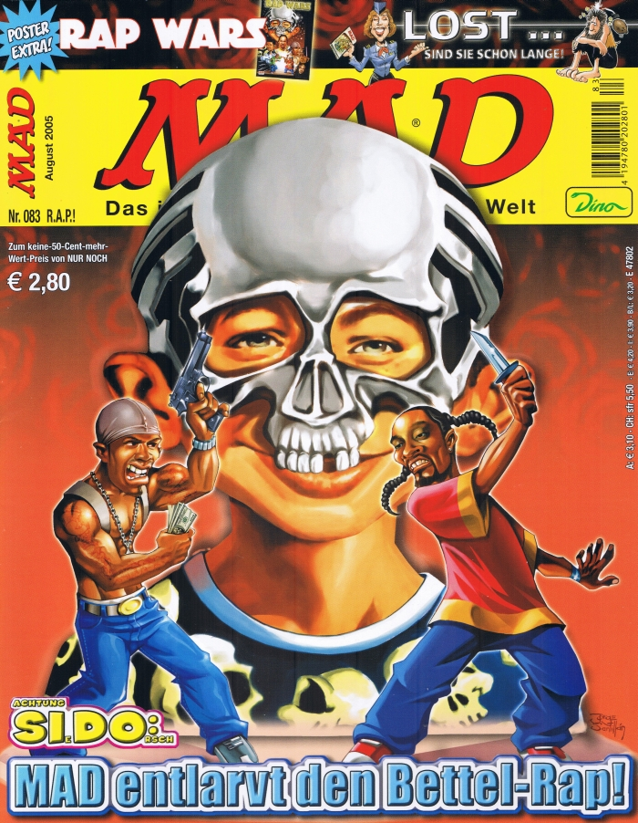 MAD Magazine #83 • Germany • 2nd Edition - Dino/Panini