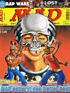Go to MAD Magazine #83 • Germany • 2nd Edition - Dino/Panini