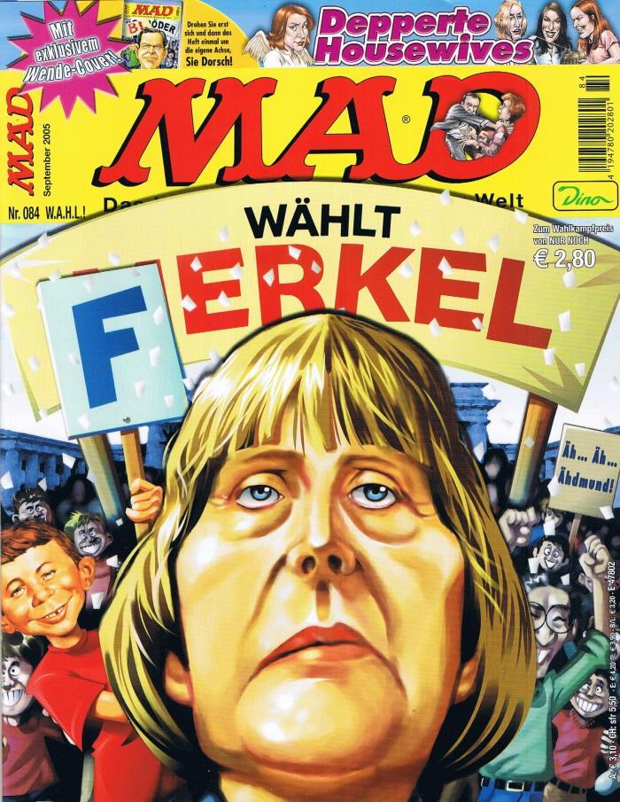 MAD Magazine #84 • Germany • 2nd Edition - Dino/Panini