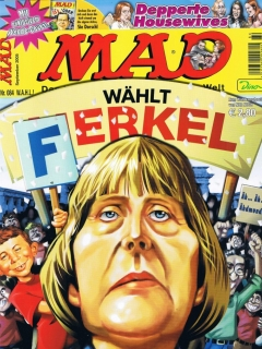 Go to MAD Magazine #84 • Germany • 2nd Edition - Dino/Panini