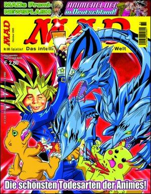 MAD Magazine #85 • Germany • 2nd Edition - Dino/Panini