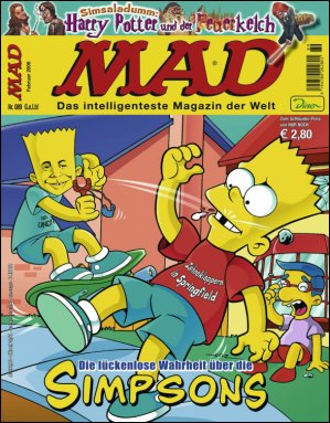 MAD Magazine #89 • Germany • 2nd Edition - Dino/Panini