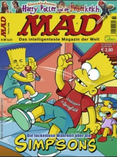 Go to MAD Magazine #89 • Germany • 2nd Edition - Dino/Panini