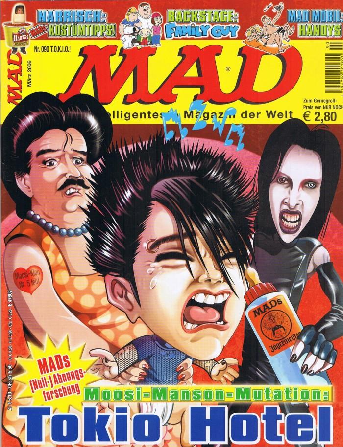 MAD Magazine #90 • Germany • 2nd Edition - Dino/Panini