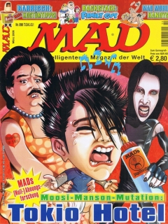 Go to MAD Magazine #90 • Germany • 2nd Edition - Dino/Panini