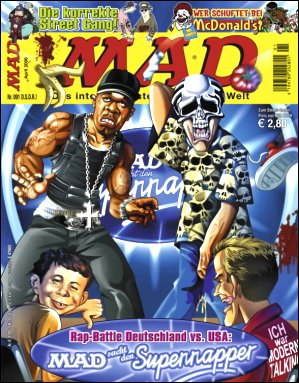 MAD Magazine #91 • Germany • 2nd Edition - Dino/Panini