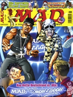 Go to MAD Magazine #91 • Germany • 2nd Edition - Dino/Panini