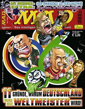 MAD Magazine #92 • Germany • 2nd Edition - Dino/Panini