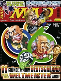 Go to MAD Magazine #92 • Germany • 2nd Edition - Dino/Panini