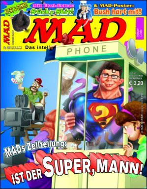 MAD Magazine #95 • Germany • 2nd Edition - Dino/Panini