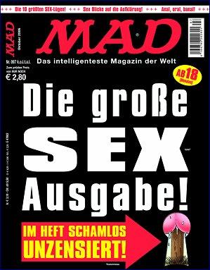 MAD Magazine #97 • Germany • 2nd Edition - Dino/Panini