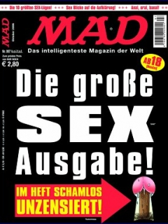 Go to MAD Magazine #97 • Germany • 2nd Edition - Dino/Panini