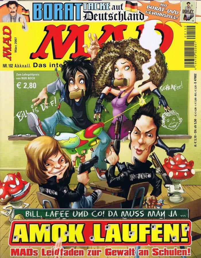 MAD Magazine #102 • Germany • 2nd Edition - Dino/Panini
