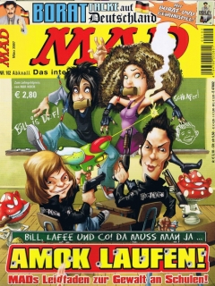 Go to MAD Magazine #102 • Germany • 2nd Edition - Dino/Panini