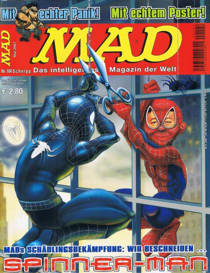 MAD Magazine #104 • Germany • 2nd Edition - Dino/Panini