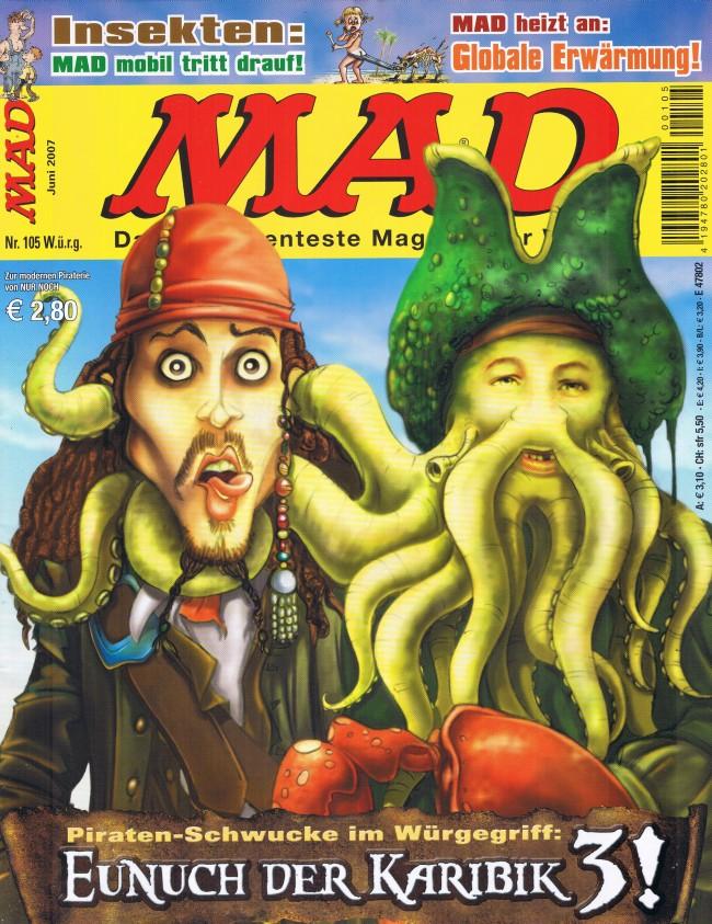 MAD Magazine #105 • Germany • 2nd Edition - Dino/Panini