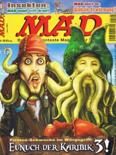 Go to MAD Magazine #105 • Germany • 2nd Edition - Dino/Panini