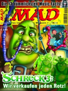 MAD Magazine #106 • Germany • 2nd Edition - Dino/Panini