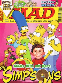 Go to MAD Magazine #107 • Germany • 2nd Edition - Dino/Panini