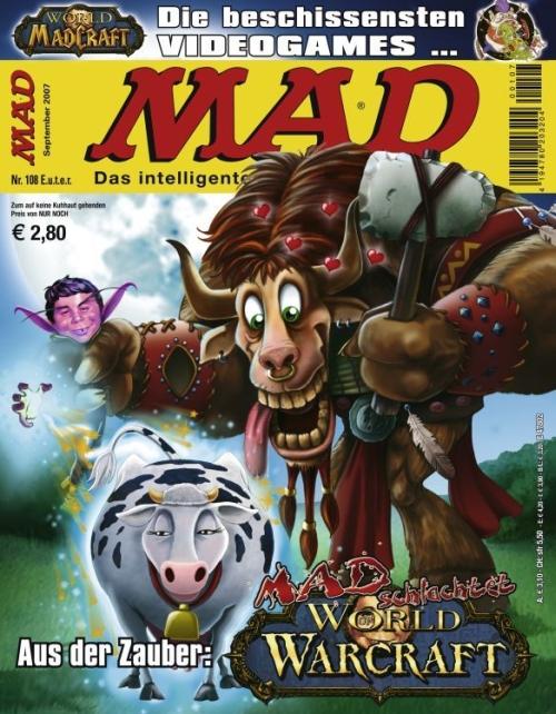 MAD Magazine #108 • Germany • 2nd Edition - Dino/Panini