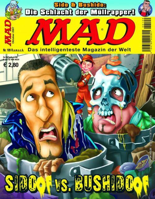 MAD Magazine #109 • Germany • 2nd Edition - Dino/Panini