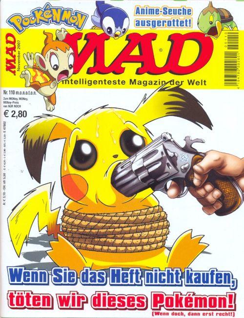 MAD Magazine #110 • Germany • 2nd Edition - Dino/Panini