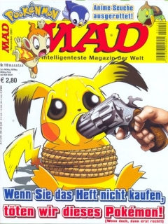 Go to MAD Magazine #110 • Germany • 2nd Edition - Dino/Panini