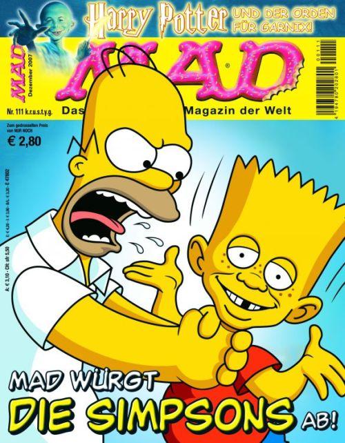 MAD Magazine #111 • Germany • 2nd Edition - Dino/Panini