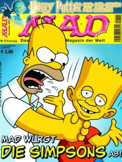 Go to MAD Magazine #111 • Germany • 2nd Edition - Dino/Panini
