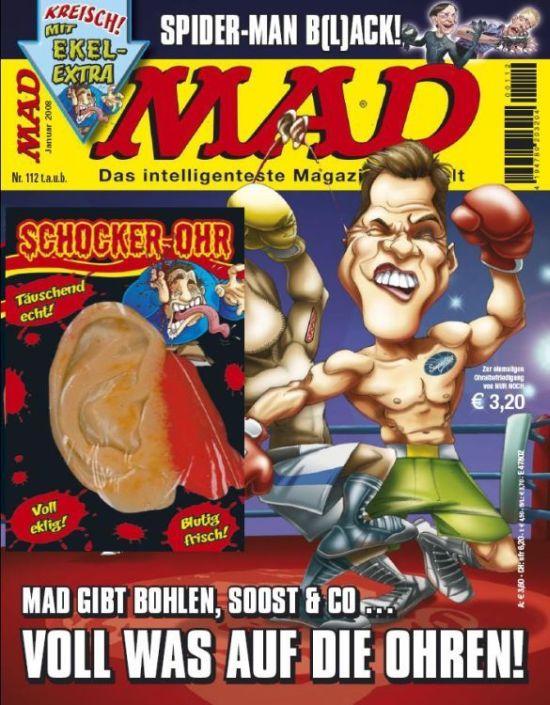 MAD Magazine #112 • Germany • 2nd Edition - Dino/Panini