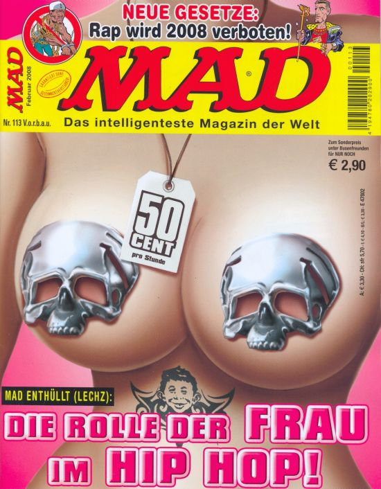 MAD Magazine #113 • Germany • 2nd Edition - Dino/Panini