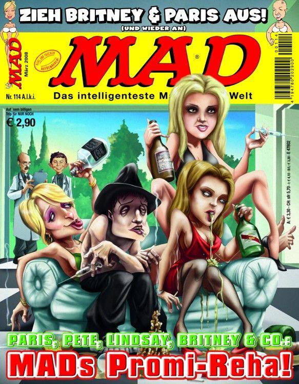 MAD Magazine #114 • Germany • 2nd Edition - Dino/Panini