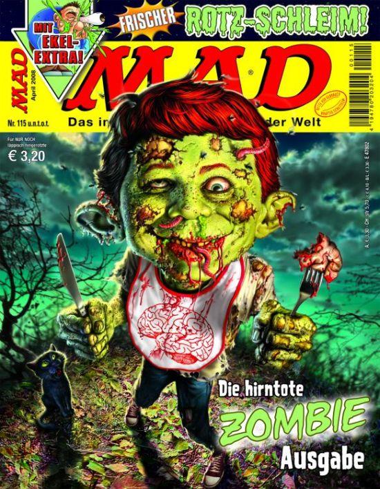 MAD Magazine #115 • Germany • 2nd Edition - Dino/Panini